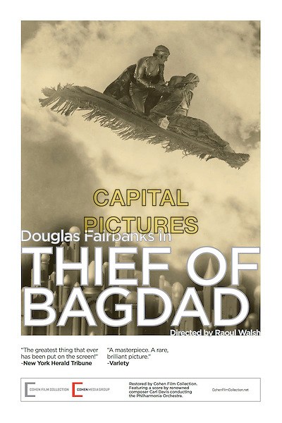 The Thief of Bagdad (1924) <br /> POSTER ART<br /> *Filmstill - Editorial Use Only*<br /> CAP/KFS<br /> Image supplied by Capital Pictures