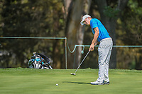 Matt Fitzpatrick (ENG) watches his putt on 2 during round 1 of the World Golf Championships, Mexico, Club De Golf Chapultepec, Mexico City, Mexico. 3/1/2018.<br /> Picture: Golffile | Ken Murray<br /> <br /> <br /> All photo usage must carry mandatory copyright credit (&copy; Golffile | Ken Murray)