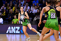 Pulse&rsquo; Claire Kersten in action during the ANZ Premiership - Pulse v Magic at TSB Bank Arena, Wellington, New Zealand on Sunday 21 April 2019. <br /> Photo by Masanori Udagawa. <br /> www.photowellington.photoshelter.com