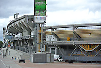 BOGOTÁ -COLOMBIA. Aspecto del estadio Nemesio Camacho El Campín de la ciudad de Bogotá, Colombia./ Panoramic aspect of Nemesio Camacho El Campin in Bogota, Colombia. Photo: VizzorImage/ Str