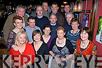Having a great night at the Tralee Mounteering and cycling club christmas party at the Blasket inn, Tralee on Friday night were, First row - Myriam Pope, Maja Noszczyk, Eileen McCormack, Jennifer Crowley, Carmel O'Connor..Second row- Brenda Conway, Tony Costello, Gerry Lee, Martin Moore, Marie O'Connell..Back row - John O'Connor, Tim O'Connell, Matt Quilter, Toma?s Crowley, Mike Dillane.   Copyright Kerry's Eye 2008