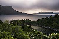 Lake Waikaremoana, Te Urewera, Eastland, North Island, New Zealand