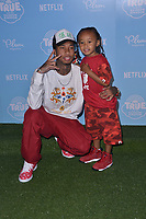 10 August  2017 - Los Angeles, California - Tyga, King Cairo.   Premiere of Netflix's &quot;True and The Rainbow&quot; held at Pacific Theaters at The Grove in Los Angeles. <br /> CAP/ADM/BT<br /> &copy;BT/ADM/Capital Pictures
