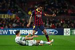 UEFA Champions League 2013/2014.<br /> FC Barcelona vs Celtic FC: 6-1 - Game: 6.<br /> SergioBusquets vs Derk Boerrigter.