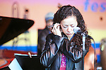 Luciana Souza. Participants at the 2001 Monterey Jazz Festival.