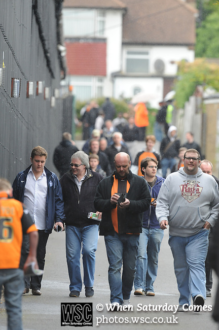 Barnet 1 Rochdale 0, 08/05/2010. Underhill Stadium, League 2. The final game of the season at Underhill. The Bees must beat Rochdale to guarantee their survival. Rochdale are celebrating promotion to League one. Photo by Simon Gill.