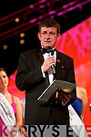 Anthony O'Gara at the Rose of Tralee Finals in the Festival Dome on Tuesday night.
