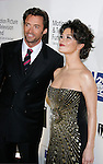 LOS ANGELES, CA. - November 08: Actor Hugh Jackman and Actress Catherine Zeta-Jones arrive at The 4th Annual A Fine Romance to Benefit The Motion Picture & Televison Fund at Sony Pictures Studios on November 8, 2008 in Culver City, California.