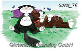 Kate, CUTE ANIMALS, LUSTIGE TIERE, ANIMALITOS DIVERTIDOS, paintings+++++Cats & Dogs page 26 1,GBKM76,#ac#, EVERYDAY ,cat,cats