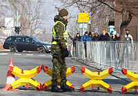 Security at Prague Castle, Prague, Czech Republic on February 28th to March 3rd 2018<br /> CAP/ROS<br /> &copy;ROS/Capital Pictures