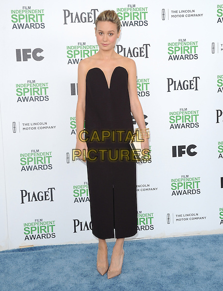 SANTA MONICA, CA, MARCH 01: Brie Larson at The 2014 Film Independent Spirit Awards held at Santa Monica Beach in Santa Monica, California, USA on March 1st, 2014.                                                                              <br /> CAP/DVS<br /> &copy;Debbie VanStory/Capital Pictures