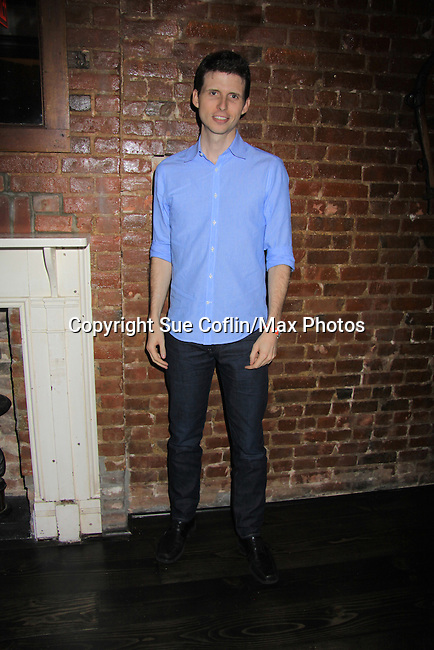 Nick Lewis (a part of the cast) poses at Empire The Series cast & crew get together to see the newest episode on August 28, 2012 at Smithfields in Chelsea, New York City, New York.  (Photo by Sue Coflin/Max Photos)