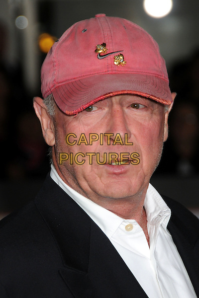 "TONY SCOTT, Director.""Unstoppable"" Los Angeles Premiere held at the Regency Village Theatre, Westwood, California, USA..October 26th, 2010.headshot portrait black white red baseball cap hat.CAP/ADM/BP.©Byron Purvis/AdMedia/Capital Pictures."