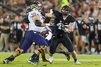 STANFORD, CA - OCTOBER 5, 2013:  Blake Leuders during Stanford's game against University of Washington. The Cardinal defeated the Huskies 31-28.