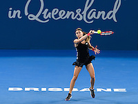 ALEKSANDRA KRUNIC<br /> <br /> 2017 BRISBANE INTERNATIONAL, PAT RAFTER ARENA, BRISBANE TENNIS CENTRE, BRISBANE, QUEENSLAND, AUSTRALIA<br /> <br /> <br /> &copy; TENNIS PHOTO NETWORK