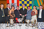 SILVERWARE: Having a great night at the Ballydesmond GAA Social in the Earl of Desmond Hotel, Tralee, on Saturday evening were Jerry Healy, Niall Fleming, Norita Kelly, Paudie Herlihy (PRO), Ned Murphy (Secretary), Sean Cronin (Chairman), Norma Kelly and Fergal OSullivan (Treasurer)..