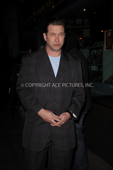 WWW.ACEPIXS.COM . . . . . .January 18, 2012...New York City....Stephen Baldwin attends the Cinema Society  screening of 'Haywire' at Landmark Sunshine Cinema on January 18, 2012 in New York City. ....Please byline: KRISTIN CALLAHAN - ACEPIXS.COM.. . . . . . ..Ace Pictures, Inc: ..tel: (212) 243 8787 or (646) 769 0430..e-mail: info@acepixs.com..web: http://www.acepixs.com .