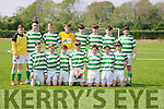 Listowel fc U15 at the U15 Shield final against Ballyhar U15 at Mounthawk Park on Saturday