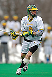 14 April 2007: University of Vermont Catamounts' Brandon Goodwyn, a Sophomore from Bethesda, MD, in action against the University of Albany Great Danes at Moulton Winder Field, in Burlington, Vermont. The Great Danes defeated the Catamounts 14-7...Mandatory Photo Credit: Ed Wolfstein Photo