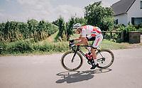 defending champion Mathieu van der Poel (NED/Corendon-Circus)<br /> <br /> 3rd Dwars Door Het hageland 2018 (BEL)<br /> 1 day race:  Aarschot > Diest: 198km