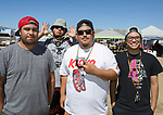 Leland, Duke, Joaquin and Tayler during the Numaga Indian Days Pow Wow in Hungry Valley on Sunday, Sept. 1, 2019.