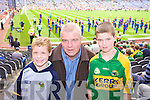 Tony, Dominick, and Joe Hoare Annascaul Supporting Kerry at Croke park on Sunday.
