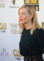 Cate Blanchett at the 19th Annual Critics' Choice Awards at The Barker Hangar, Santa Monica Airport.<br /> January 16, 2014  Santa Monica, CA<br /> Picture: Paul Smith / Featureflash