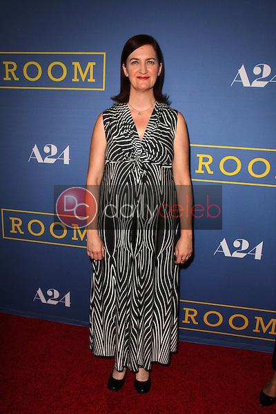 "Emma Donoghue<br /> at the ""Room"" Los Angeles Premiere, Pacific Design Center,  Los Angeles, CA 10-13-15<br /> David Edwards/Dailyceleb.com 818-249-4998"
