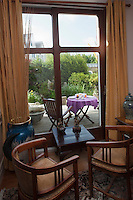 Europe/France/Bretagne/56/Morbihan/Vannes: Hôtel de Charme: Villa Kerasy - un salon et le jardin