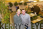 Caroline Noone and Patrick Lynch Pictured at the Kerry Home and Garden Show at the Brandon Hotel on Saturday.