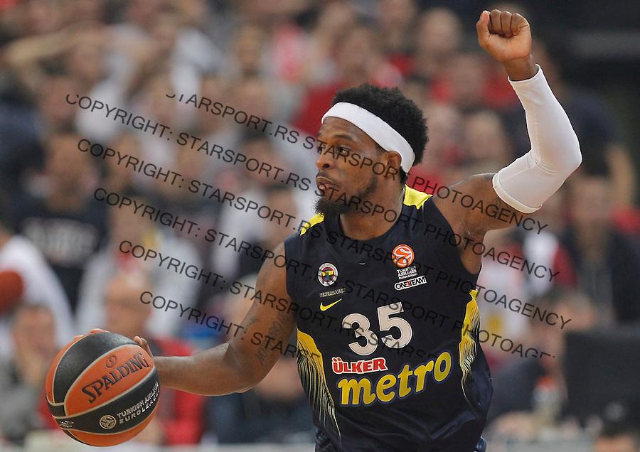 Kosarka Euroleague season 2015-2016<br /> Euroleague <br /> Crvena Zvezda v Fenebahce Istanbul<br /> Bobby Dixon<br /> Beograd, 06.11.2015.<br /> foto: Srdjan Stevanovic/Starsportphoto &copy;