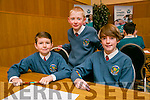 Scoil Eoin NS Balloonagh, Jack Doyle, Jake Carroll, Adam Dineen,  at the Credit Union Chapter 23 Primary school's Quiz in the Ballyroe Heights Hotel on Sunday