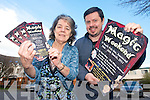 ABRACADABRA: Eileen and Gary Prenderville from the South Pole Inn are reviving the Magic Weekend in Annascaul with plenty of tricks up their sleeves this weekend to entertain all ages.
