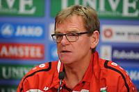 VOETBAL: HEERENVEEN: Abe Lenstra stadion 23-08-2014, SC Heerenveen - Excelsior uitslag 2 - 0, Dwight Lodeweges (trainer sc Heerenveen), ©foto Martin de Jong