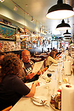 USA, California, San Francisco, the interior of restaurant Sotto Mare in North Beach