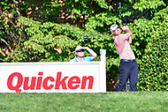 Bethesda, MD - July 1, 2018: Ryan Armour tee's off on the 18th hole during final round of professional play at the Quicken Loans National Tournament at TPC Potomac at Avenel Farm in Bethesda, MD.  (Photo by Phillip Peters/Media Images International)