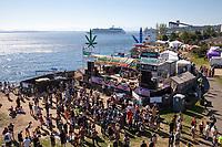 Main Stage, Hempfest 2016, Seattle, WA, USA.
