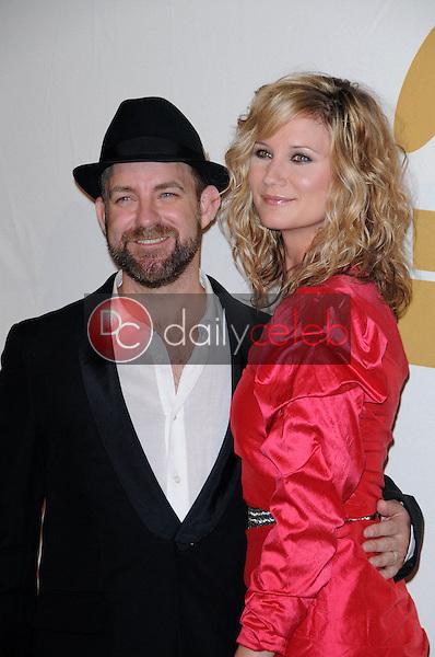 Jennifer Nettles and Kristian Bush<br /> at The GRAMMY Nominations Concert Live!, Club Nokia, Los Angeles, CA.  12-02-09<br /> David Edwards/DailyCeleb.com 818-249-4998