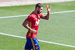 Sergio Ramos during training of the spanish national football team in the city of football of Las Rozas in Madrid, Spain. August 30, 2017. (ALTERPHOTOS/Rodrigo Jimenez)