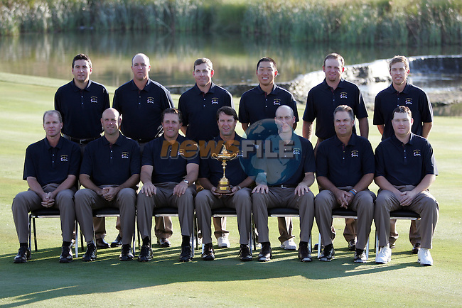 The US team's photoshoot during the buildup to the 37th Ryder Cup at Valhalla Golf Club, Louisville, Kentucky, USA - 17th September 2008 (Photo by Manus O'Reilly/GOLFFILE)