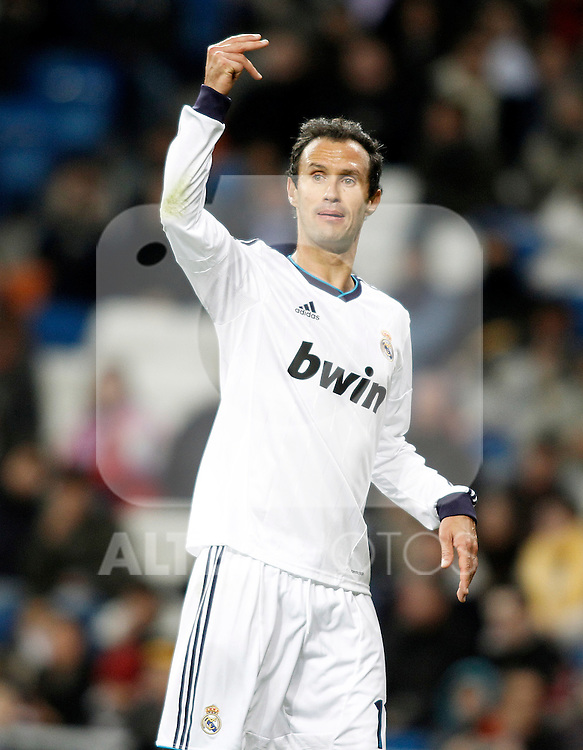 Real Madrid's Ricardo Carvalho during Spanish King's Cup match.November 27,2012. (ALTERPHOTOS/Acero)