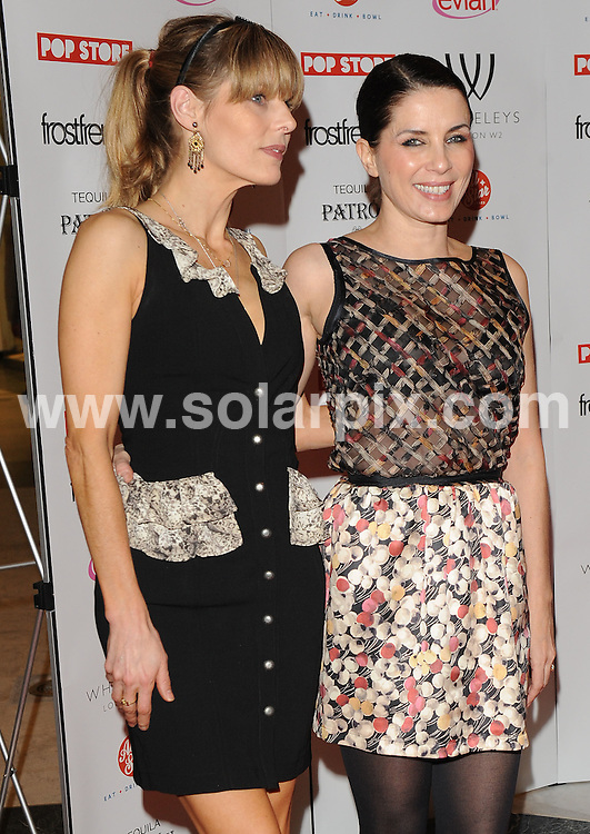 **ALL ROUND PICTURES FROM SOLARPIX.COM** **WORLDWIDE SYNDICATION RIGHTS** .SADIE FROST and JEMIMA FRENCH open their first ever POP STORE under their fashion label FrostFrench at Whiteleys shopping centre, Queensway, London, on Thursday March 25, 2010. ..This pic: Jemima French and Sadie Frost..JOB REF: 10976 SSD DATE: 25_03_2010 .**MUST CREDIT SOLARPIX.COM OR DOUBLE FEE WILL BE CHARGED** **MUST NOTIFY SOLARPIX OF ONLINE USAGE** **CALL US ON: +34 952 811 768 or LOW RATE FROM UK 0844 617 7637**