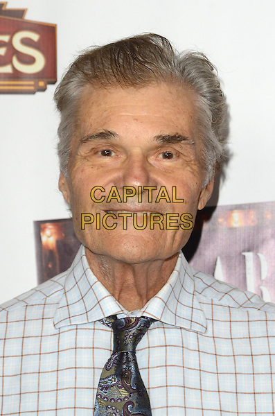 HOLLYWOOD, CA - JULY 20: Fred Willard at the opening of 'Cabaret' at the Pantages Theatre on July 20, 2016 in Hollywood, California. <br /> CAP/MPI/DE<br /> &copy;DE/MPI/Capital Pictures