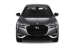 Car photography straight front view of a 2019 Ds DS-3-Crossback Grand-Chic 5 Door SUV Front View