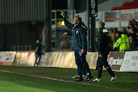 Wycombe manager Gareth Ainsworth during the Sky Bet League 2 match between Newport County and Wycombe Wanderers at Rodney Parade, Newport, Wales on 22 November 2016. Photo by Mark  Hawkins.