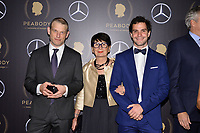 NEW YORK - MAY 18: Daniel Adamson, Marie-Josée Leroy and Aliaume Leroy attend the 78th Annual Peabody Awards at Cipriani Wall Street on May 18, 2019 in New York City. (Photo by Anthony Behar/FX/PictureGroup)