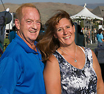 Tim and Sheila Bertrand during the Art of Childhood Gala and Fundraiser at Montreux Golf and Country Club on Friday, August 24, 2018.