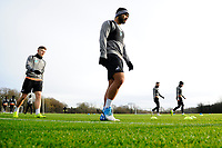 Cameron Carter-Vickers of Swansea City during the Swansea City Training at The Fairwood Training Ground, Swansea, Wales, UK. Tuesday 04 December 2018