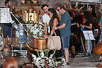 Spanish film director Paco Leon and actors Candela Pena and Luis Callejo during `Kiki´ film production in Madrid, Spain. August 31, 2015. (ALTERPHOTOS/Victor Blanco)