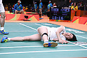 Ayane Kurihara (JPN), <br /> AUGUST 13, 2016 - Badminton : <br /> Mixed Doubles Group Play <br /> at Riocentro - Pavilion 4 <br /> during the Rio 2016 Olympic Games in Rio de Janeiro, Brazil. <br /> (Photo by Sho Tamura/AFLO SPORT)
